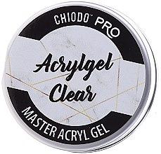 Profumi e cosmetici Gel acrilico per unghie - Chiodo Pro Acryl Gel Clear Gel