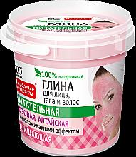 """Profumi e cosmetici Argilla rosa per viso, corpo e capelli """"Altai"""" - Fito Cosmetics"""