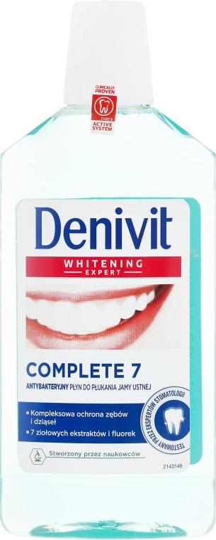 Collutorio antibatterico - Denivit Whitening Expert Complete 7 Mouthwash