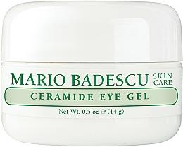 Profumi e cosmetici Gel contorno occhi nutriente - Mario Badescu Ceramide Eye Gel
