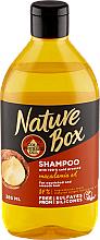 Profumi e cosmetici Shampoo idratante con olio di macadamia - Nature Box Macadamia Oil