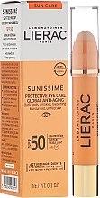 Profumi e cosmetici Balsamo contorno occhi - Lierac Sunissime Protective Eye Care Anti-Age Global SPF50