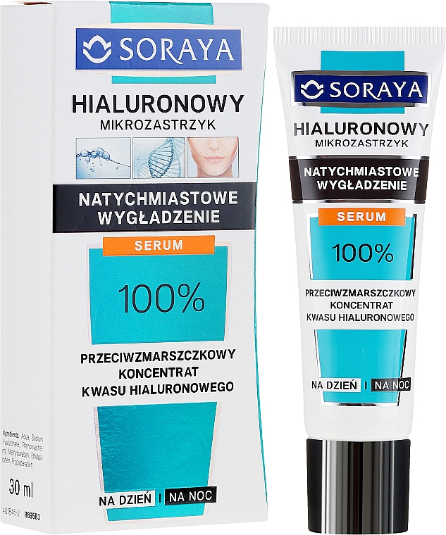 Siero concentrato anti-rughe - Soraya Hyaluronic Microinjection Anti-Wrinkle Hyaluronic Acid Concentrate