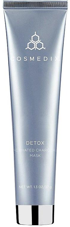 Maschera detox con carbone attivo - Cosmedix Detox Activated Charcoal Mask — foto N1