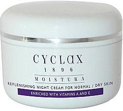 Profumi e cosmetici Crema idratante da notte - Cyclax Moistura Replenishing Night Cream Normal / Dry Skin