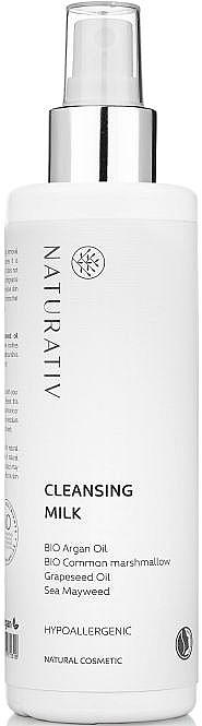 Latte struccante - Naturativ Hypoallergenic Cleansing Milk — foto N1