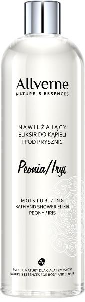 """Crema per il bagno e la doccia """"Peonia e Iris"""" - Allverne Nature's Essences Cream Bath and Shower"""