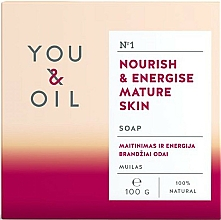 Profumi e cosmetici Sapone nutriente per pelli mature - You & Oil Nourish & Energise Mature Skin