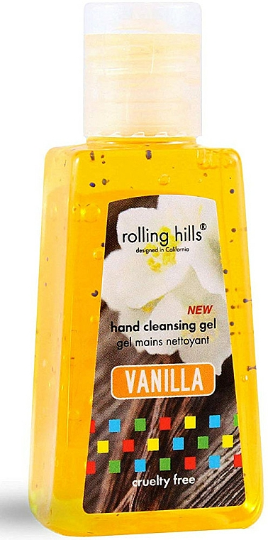 """Gel antibatterico mani """"Vaniglia"""" - Rolling Hills Hand Cleansing Gel — foto N1"""