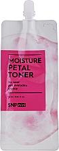 Profumi e cosmetici Tonico viso idratante con ceramide - SNP Mini Moisture Petal Toner (mini)