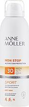Profumi e cosmetici Spray solare corpo - Anne Moller Non Stop Active Sun Invisible Mist SPF30