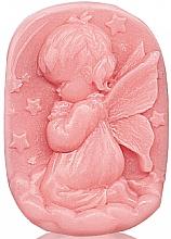 "Profumi e cosmetici Sapone alla glicerina ""Baby touch"" - Bulgarian Rose Glycerin Fragrant Soap Pink Angel"