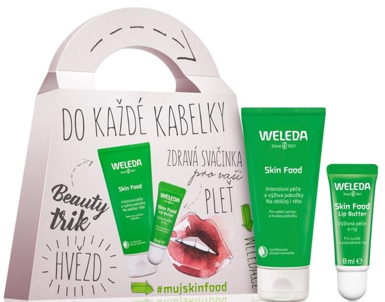 Set - Weleda Skin Food (cr/30ml+lip/balm/8ml)