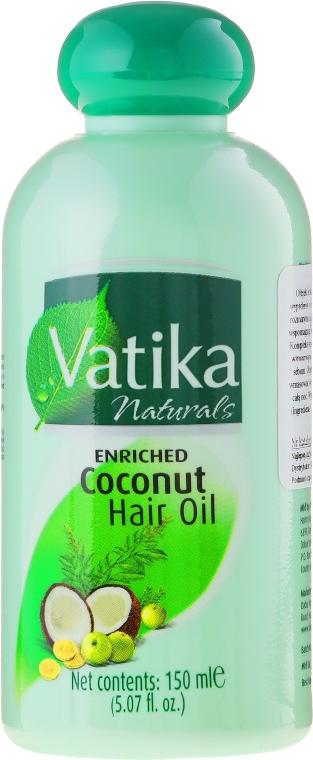 Olio di cocco per capelli - Dabur Vatika Enriched Coconut Hair Oil