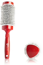 Profumi e cosmetici Spazzola Brushing, 43 mm - Upgrade Triangular Concave Thermal Brush Red Angle