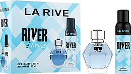 Profumi e cosmetici La Rive River Of Love - Set (edp/100ml + deo/150ml)