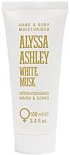 Profumi e cosmetici Alyssa Ashley White Musk - Lozione mani e corpo