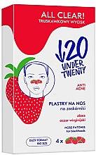 Profumi e cosmetici Strisce detergenti nasali - Under Twenty Anti! Acne All Clear! Nose Strip