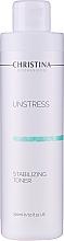 Profumi e cosmetici Tonico normalizzante per il viso - Christina Unstress Stabilizing Toner