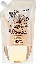"""Profumi e cosmetici Sapone liquido """"Vaniglia e Cannella"""" (doypack) - Yope Vanilla & Cinnamon Natural Liquid Soap Refill Pack"""