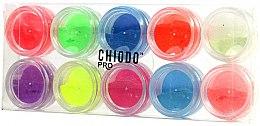 Profumi e cosmetici Set - fluorescente per nail art -Chiodo Pro Puder