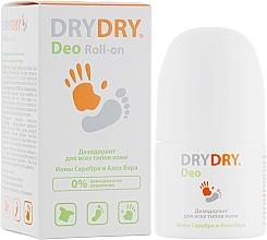 Profumi e cosmetici Deodorante con ioni d'argento e aloe vera - Lexima Ab DryDry Deo Roll-on