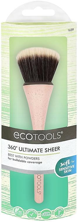 Pennello per cipria - EcoTools 360° Ultimate Sheer Brush
