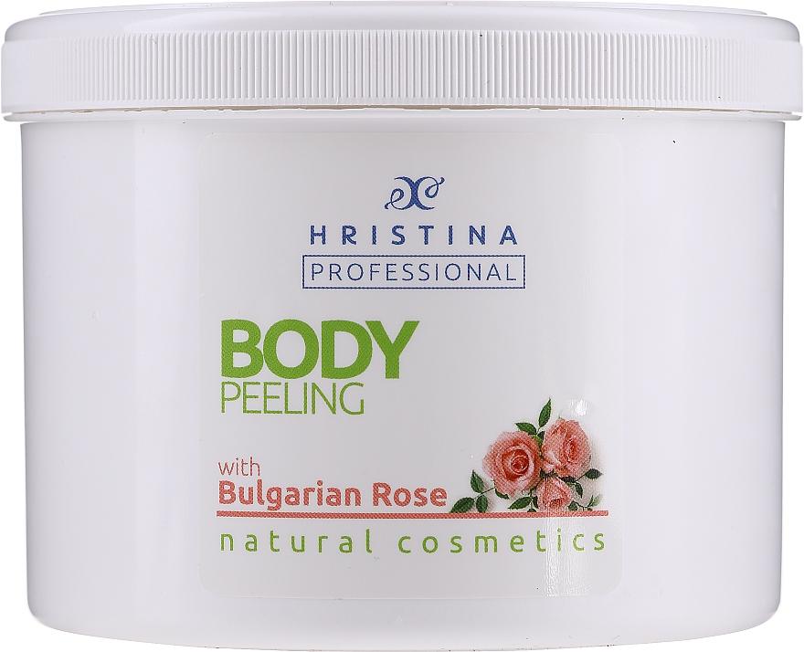 "Scrub corpo ""Rosa bulgara"" - Hristina Cosmetics Bulgarian Rose Body Peeling"