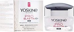 Profumi e cosmetici Crema anti-età da notte per la pelle normale e mista - Yoskine Classic Pro-Elastin Face Cream 40+