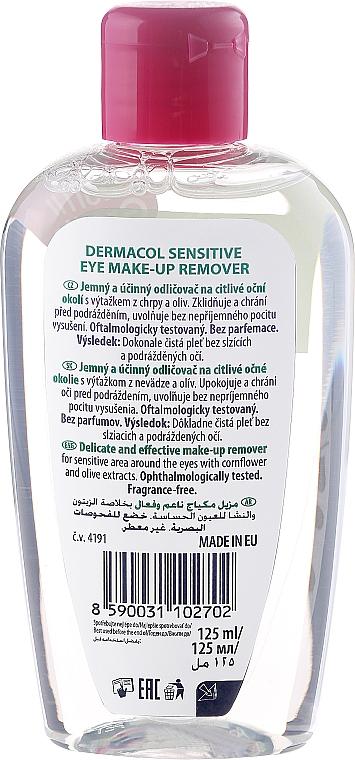 Struccante delicato per gli occhi sensibili - Dermacol Sensitive Eye Make-Up Remover — foto N2