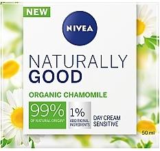 Profumi e cosmetici Crema per pelli sensibili da giorno - Nivea Naturally Good Day Sensitive Care