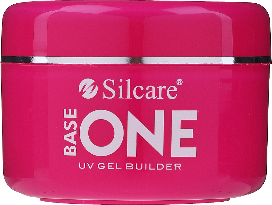 Gel camouflage per unghie - Silcare Base One UV Gel Builder Cover Light