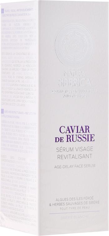 """Siero viso """"Estensione della gioventù"""" - Natura Siberica Copenhagen Caviar de Russie Age Delay Face Serum"""