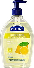 Profumi e cosmetici Sapone da cucina - On Line Kitchen Hand Wash Citrus Soap