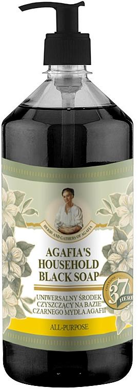 Sapone da bucato nero - Ricette ed erbe della nonna Agafya