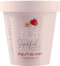 "Profumi e cosmetici Yogurt corpo ""Lampone e Mandorle"" - Fluff Body Yogurt Raspberries and Almonds"