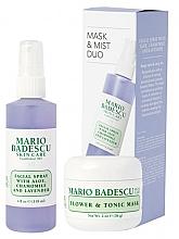 Profumi e cosmetici Set - Mario Badescu Lavender Mask & Mist Duo Set (mask/56g+spray/118ml)