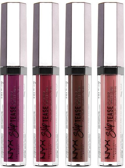 Lacca per labbra - NYX Professional Makeup Slip Tease Lip Lacquer
