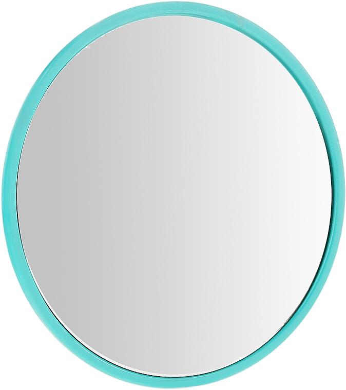 Specchio rotondo compatto, 7 cm, verde chiaro - Donegal — foto N1