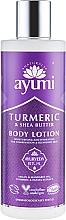 "Profumi e cosmetici Lozione corpo ""Curcuma e burro di karitè"" - Ayumi Turmeric & Shea Butter Body Lotion"