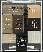 Profumi e cosmetici Palette ombretti - Miss Sporty Designer All In One Eye Palette
