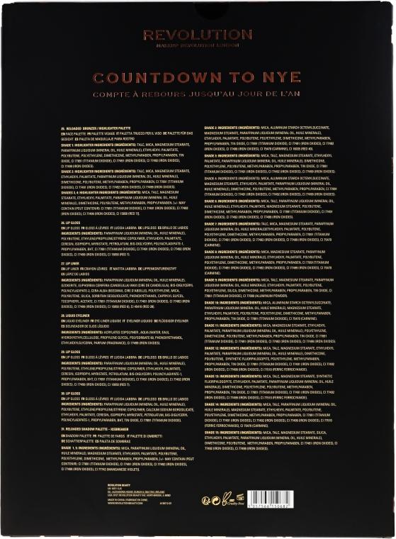 Set - Makeup Revolution Countdown To NYE — foto N2
