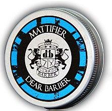 Profumi e cosmetici Pasta opacizzante per capelli - Dear Barber Mattifier Hair Paste