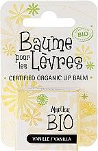 """Profumi e cosmetici Balsamo per le labbra """"Vaniglia"""" - Marilou Bio Certified Organic Lip Balm"""