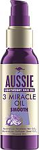 Profumi e cosmetici Maschera capelli - Aussie 3 Miracle Smooth Oil
