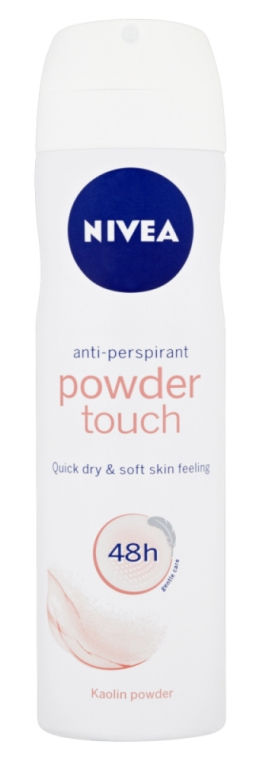 Deodorante-spray - Nivea Women Deospray Powder Touch