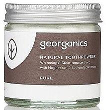 Profumi e cosmetici Polvere naturale per lo sbiancamento dei denti - Georganics Pure Coconut Natural Toothpowder