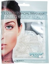 Profumi e cosmetici Maschera al collagene con particelle d'argento - Beauty Face Collagen Hydrogel Mask