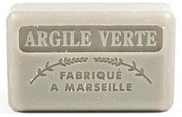 Profumi e cosmetici Sapone di Marsiglia all'argilla verde - Foufour Savonnette Marseillaise Argile Verte