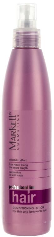Lozione condizionante per capelli sottili e fragili - Markell Cosmetics Professional Hair Line — foto N1